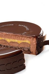 Chocolate cake with orange by Enric Monzonis