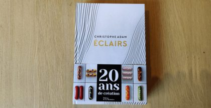 20 years éclairs by Christophe Adam