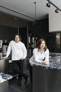 Gianluca Fusto and his wife Linda