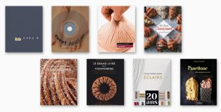 eight books about pastries and baked pastry doughs
