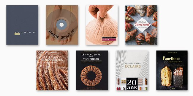 7+1 books to enter the era of baked pastry doughs