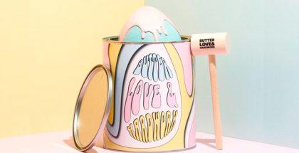 Butter Love & Hardwork easter egg