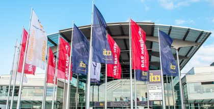 Iba trade fair entrance