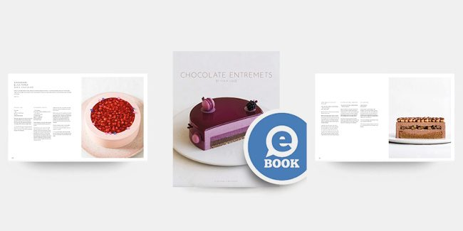30 chocolate entremets by Maja Vase are gathered in an e-book