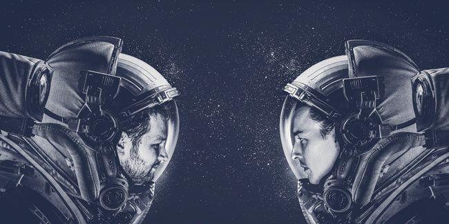 The interstellar journey of Bart de Gans and Maurits Van der Vooren