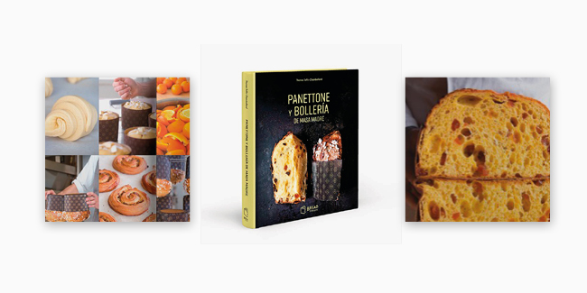 Sordough panettone and viennoiserie book cover