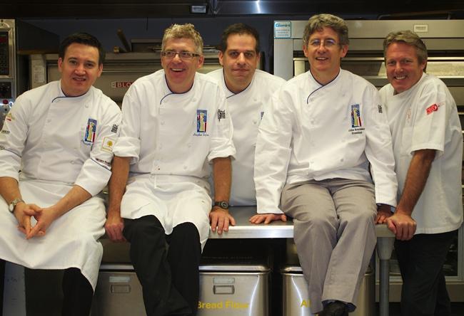 Coupe du Monde de la Pâtisserie USA team
