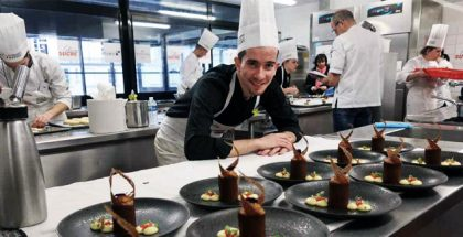 Chef at the Championnat du France du Dessert