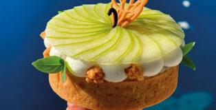 Apple tart by Julien Dugourd