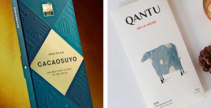 Cacaosuyo and Quanto chocolate bars