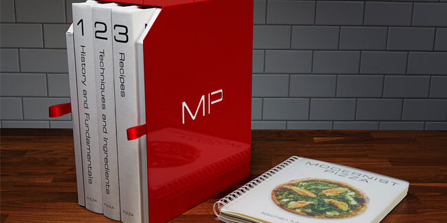 Modernist Pizza hits bookstores in October