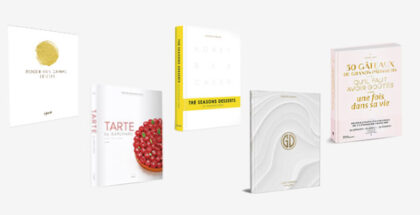 Five fresh pastry books full of techniques to spark creativity