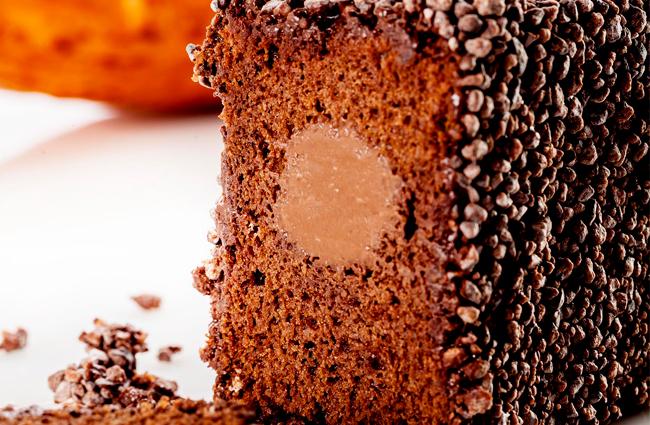 Ghana chocolate cake by Jordi Bordas