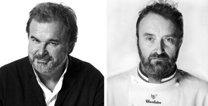 Pierre Hermé and Patrick Roger