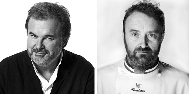 Patrick Roger and Pierre Hermé, in charge of the next edition of the World Pastry Cup