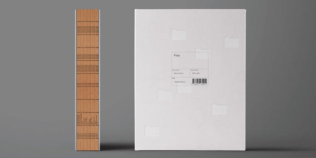 Files, by Ramon Morató. Everything you can ask for in a book.