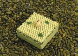 Pistachio tartlet by Laurent Bichon
