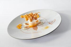 Italian team plated dessert