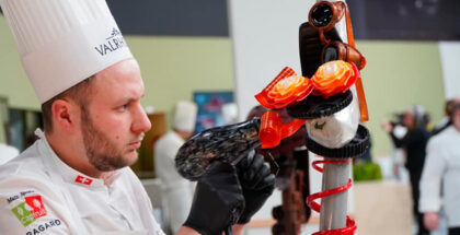 Participant of the european pastry cup