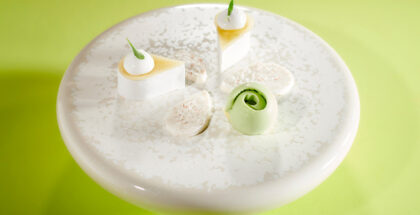 Apple from Montois, coconut, and a touch of cumin by Pierre-Jean Quinonero