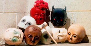Halloween dolls by Chris Ford
