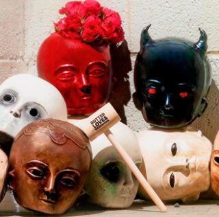 Chris Ford launches a terrifying doll collection for Halloween